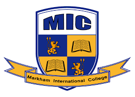 Markham International College logo
